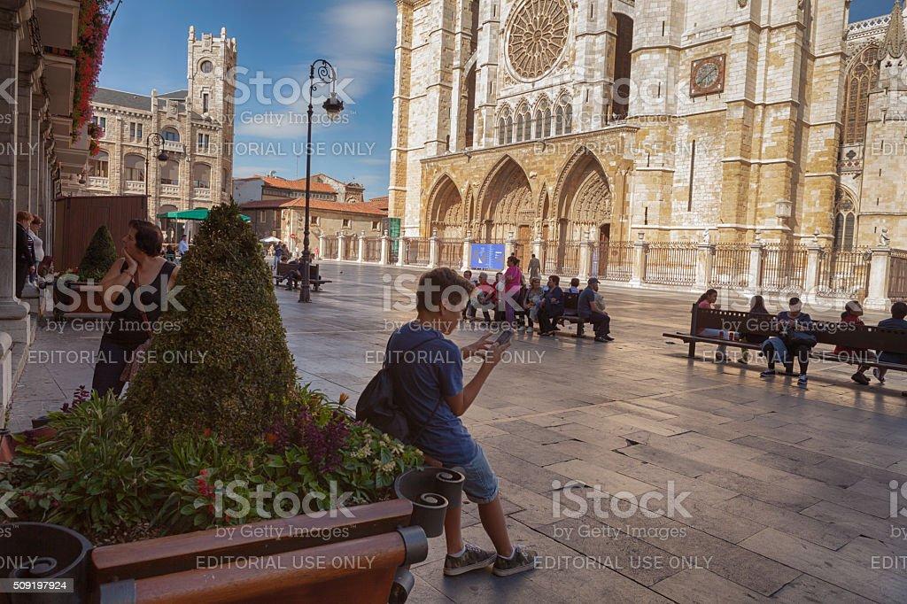 León Province - Spain (Castilla Y León) stock photo