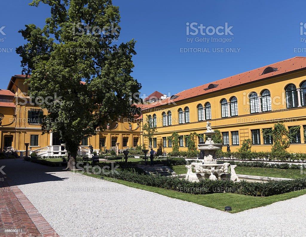 Lenbachhaus Museum, Munich germany stock photo