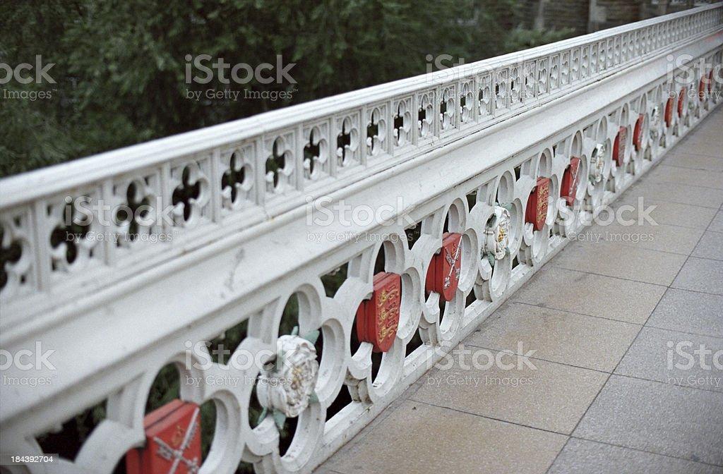 Lendal Bridge detail, York stock photo