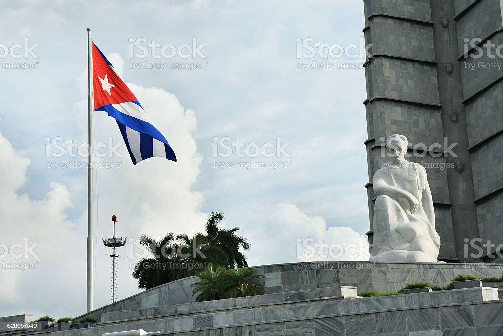 Lenin Monument Cuba stock photo