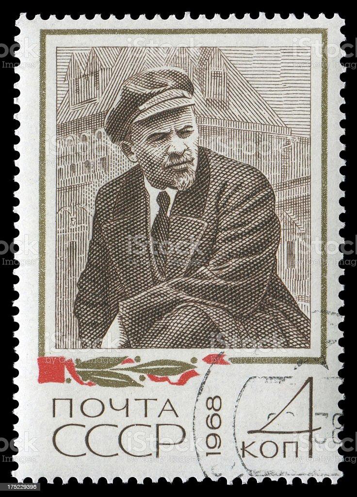 Lenin (XXXL) royalty-free stock photo