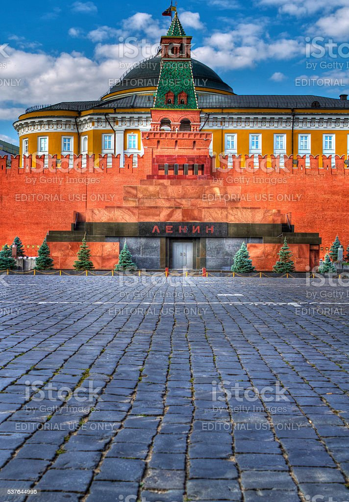 Lenin's Tomb stock photo