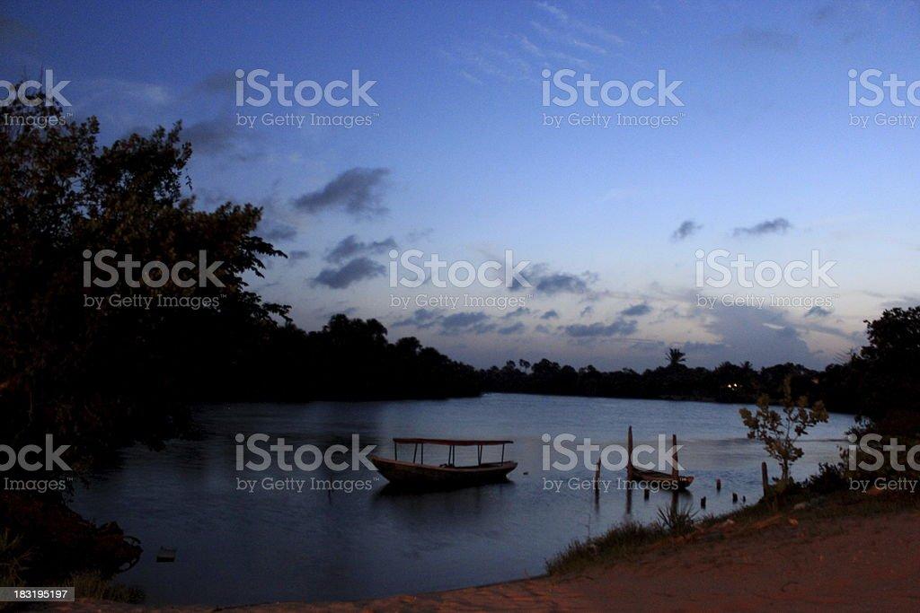 Len??is Maranhenses National Park stock photo