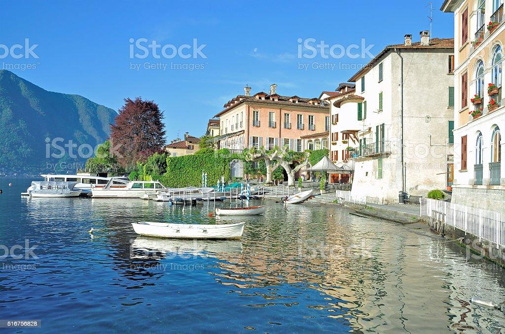 Lenno,Lake Como,Lombardy,Italy stock photo