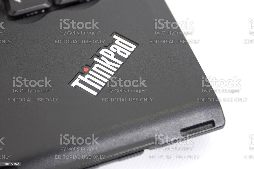 Lenovo ThinkPad Logo stock photo