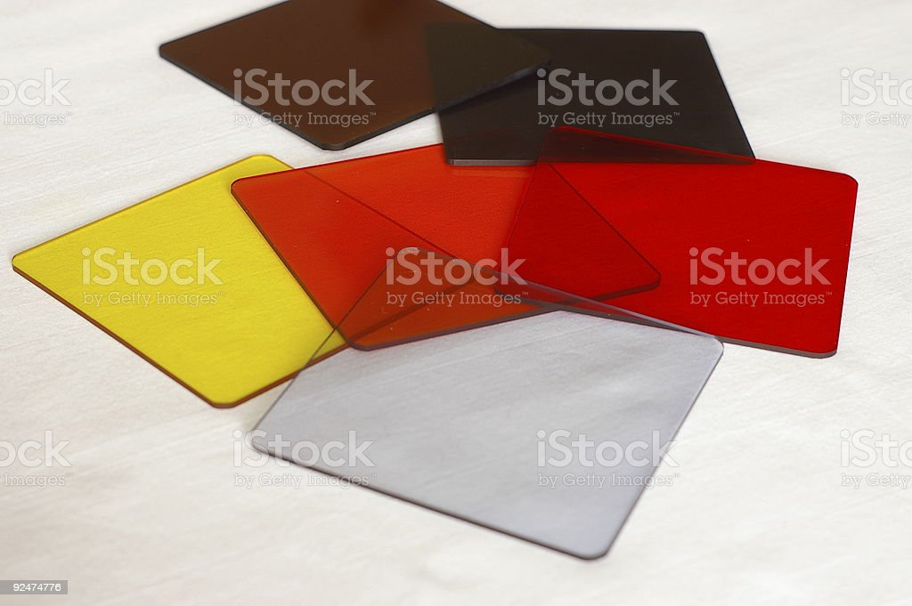 Lens Filters 1 royalty-free stock photo