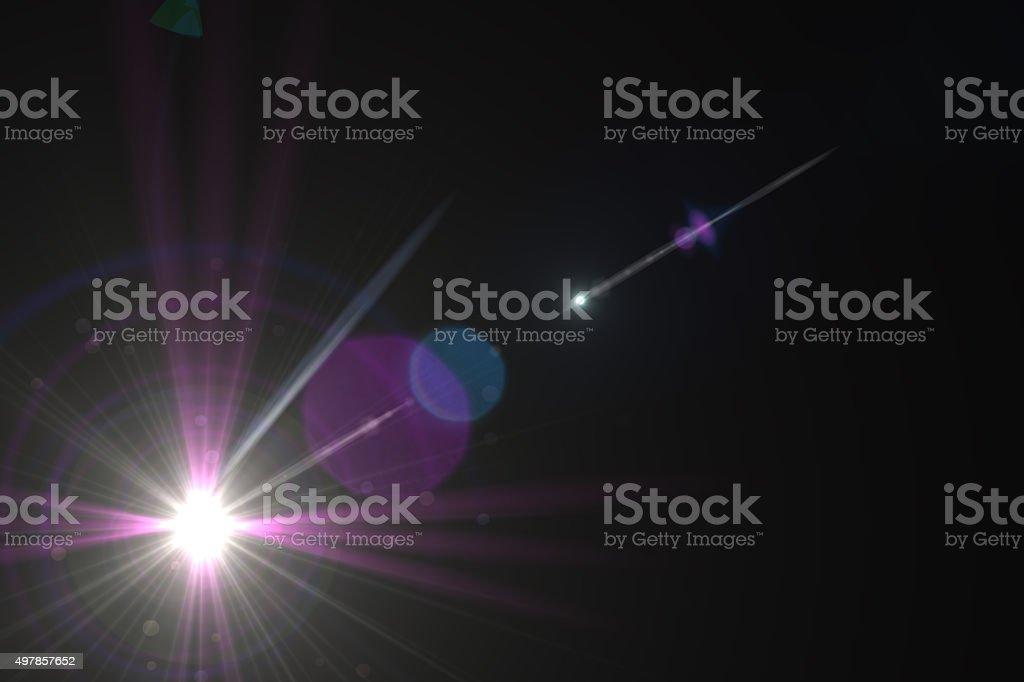 Effet de halo lumineux photo libre de droits