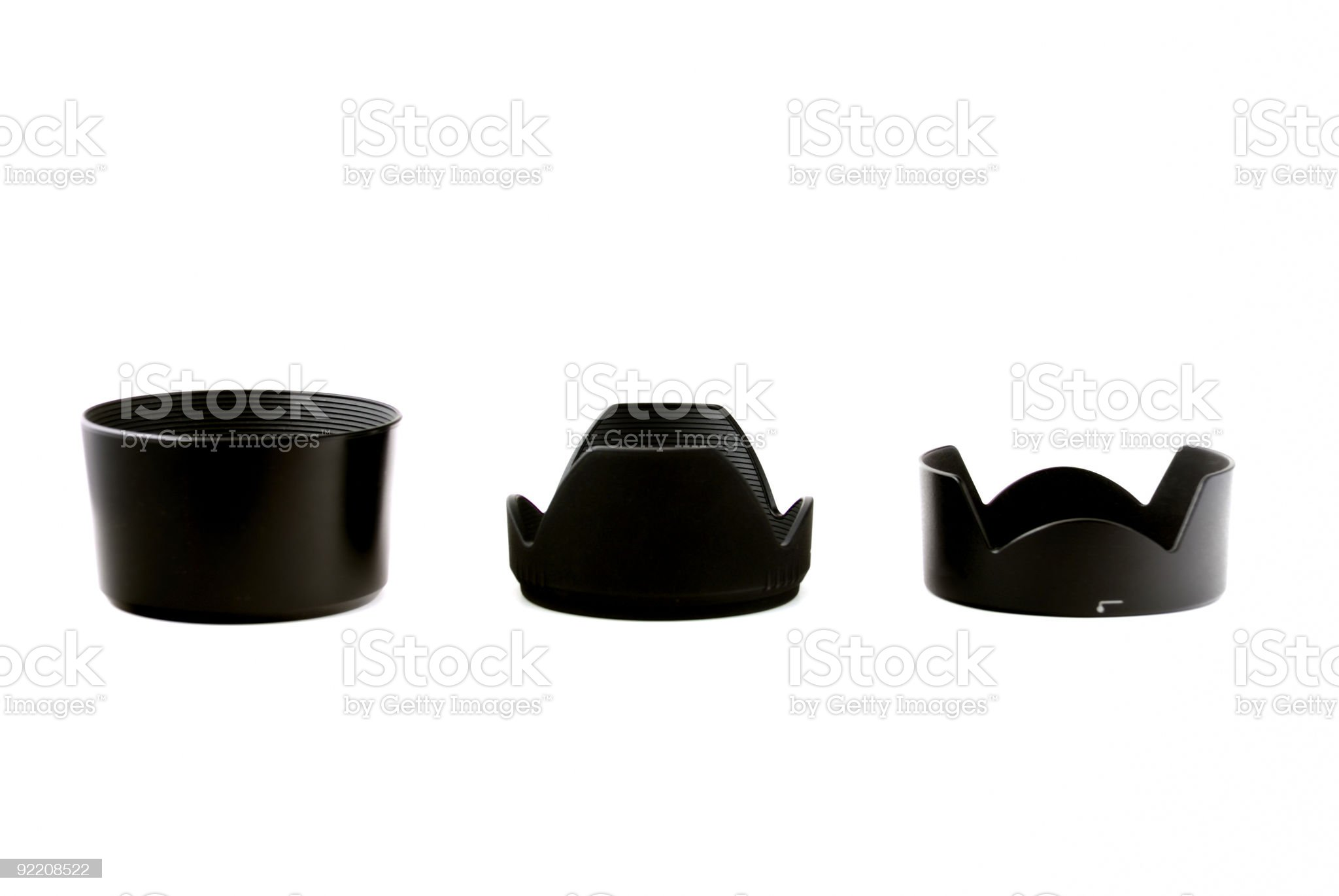 Lens hood royalty-free stock photo
