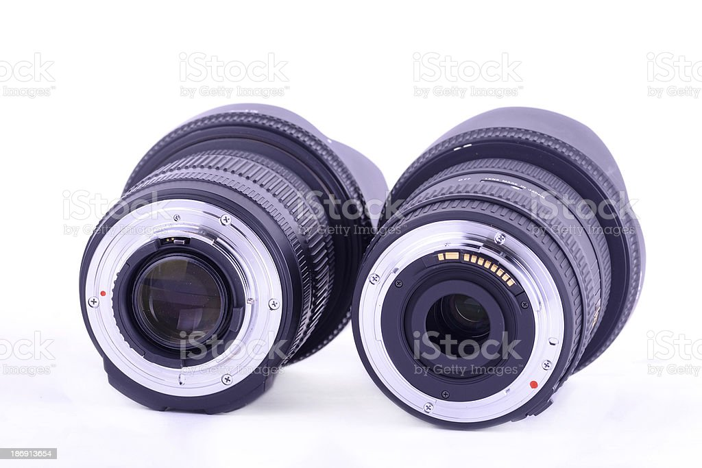 lens mount royalty-free stock photo