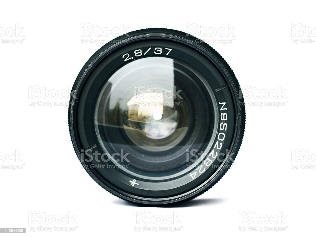 A 2 8/37 lens of a N85022824 camera stock photo