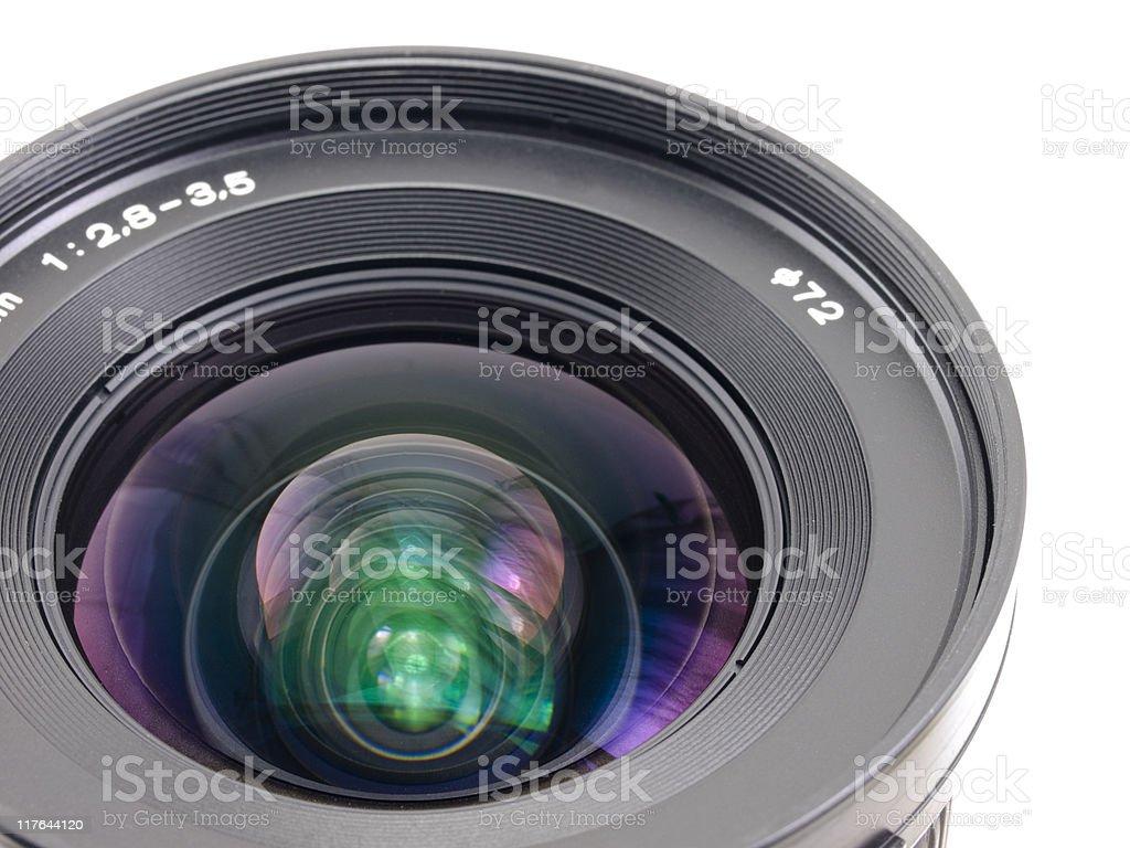 Lens of camera royalty-free stock photo