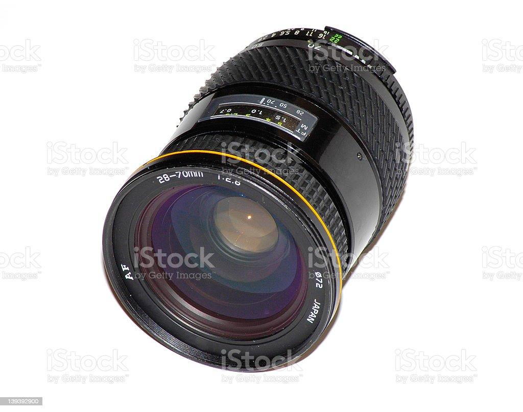 SLR Lens royalty-free stock photo
