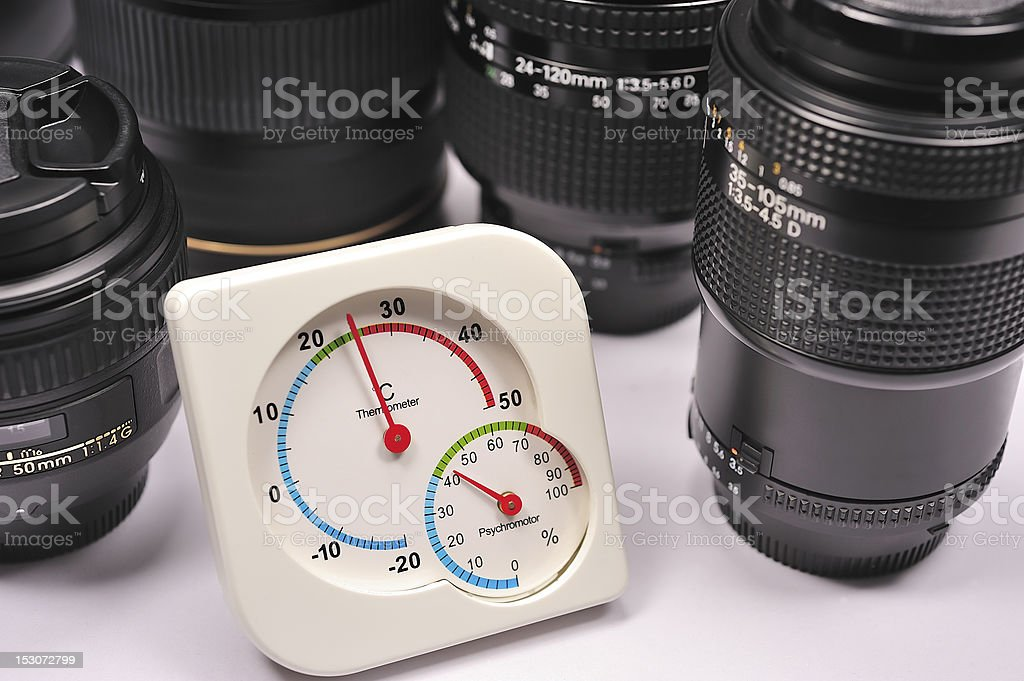 Lens protection royalty-free stock photo