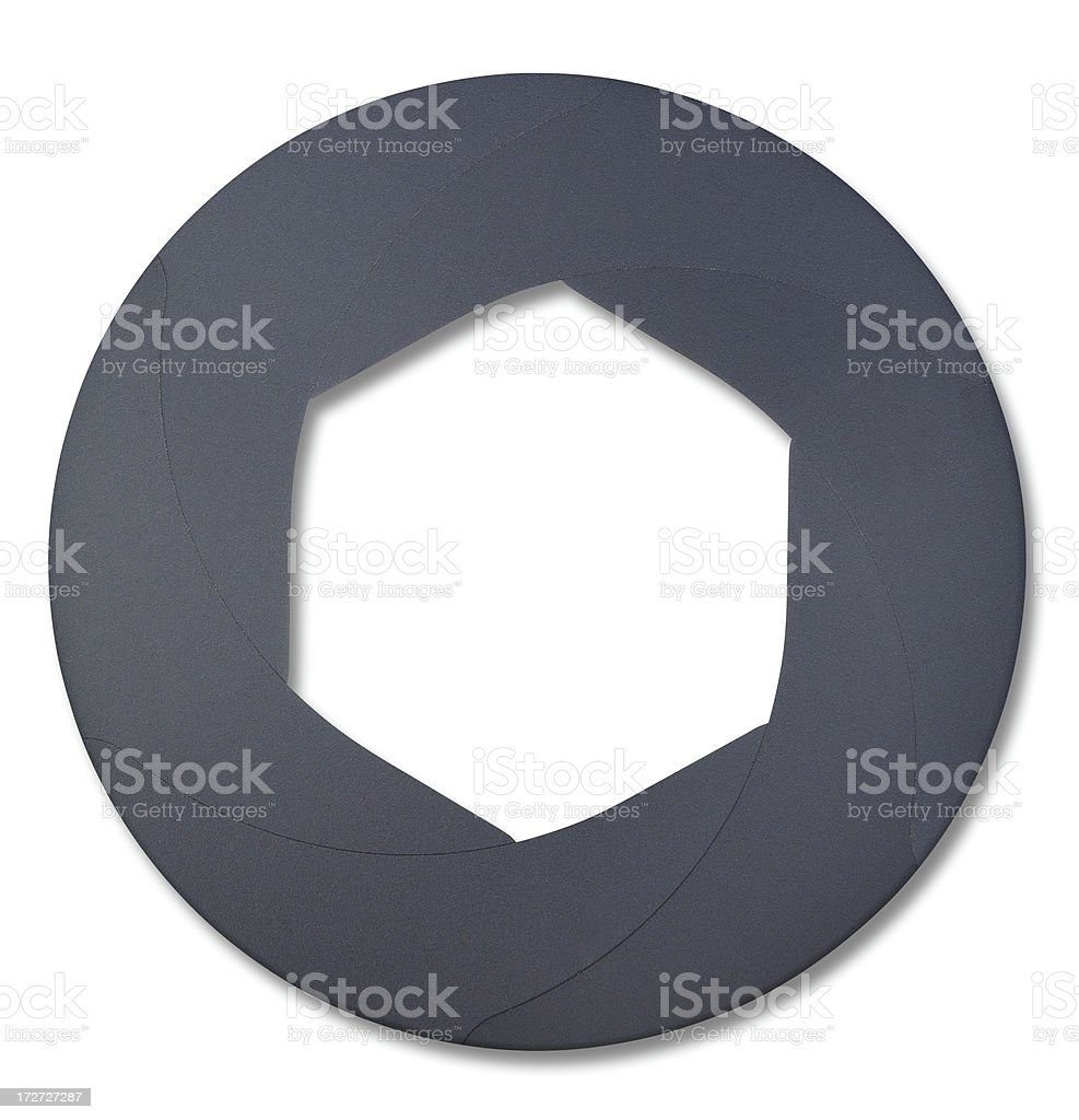 Lens Shutter royalty-free stock photo