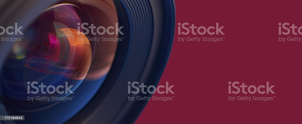Lens View royalty-free stock photo