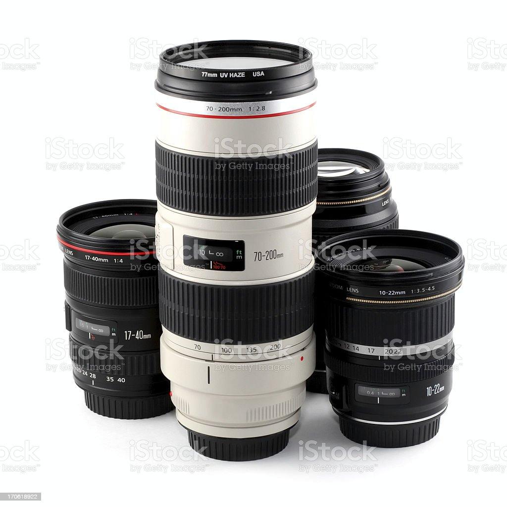DSLR Lenses royalty-free stock photo