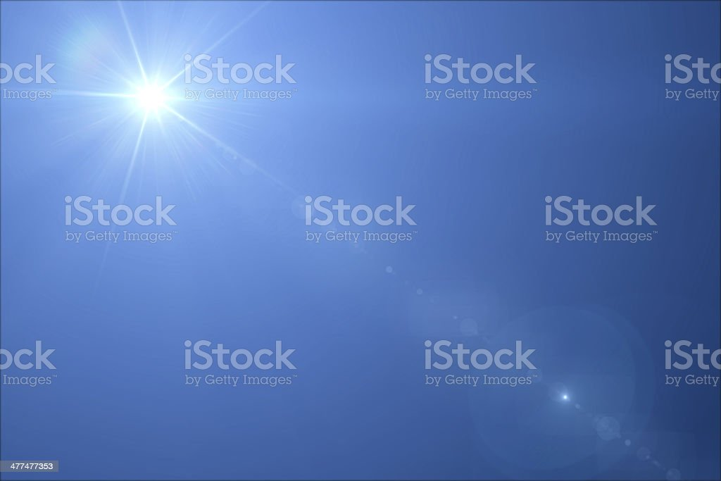 Lensflare stock photo