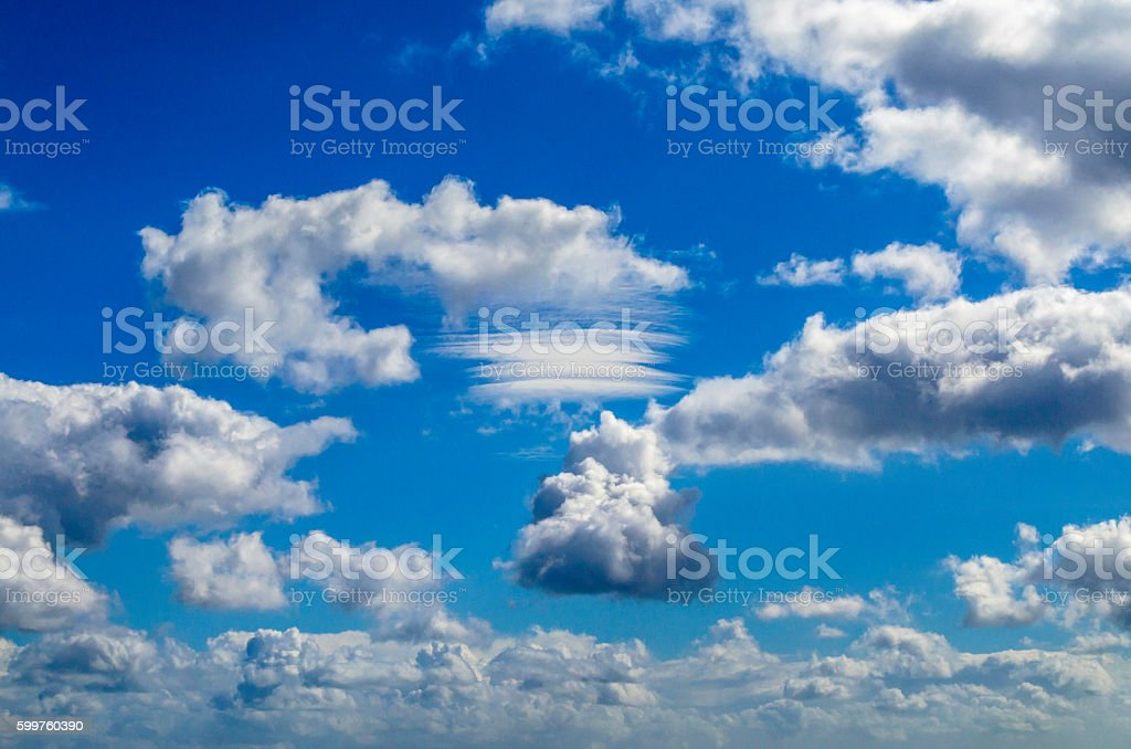 Lenticular Cloud royalty-free stock photo