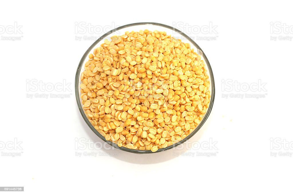 Lentil Isolated stock photo
