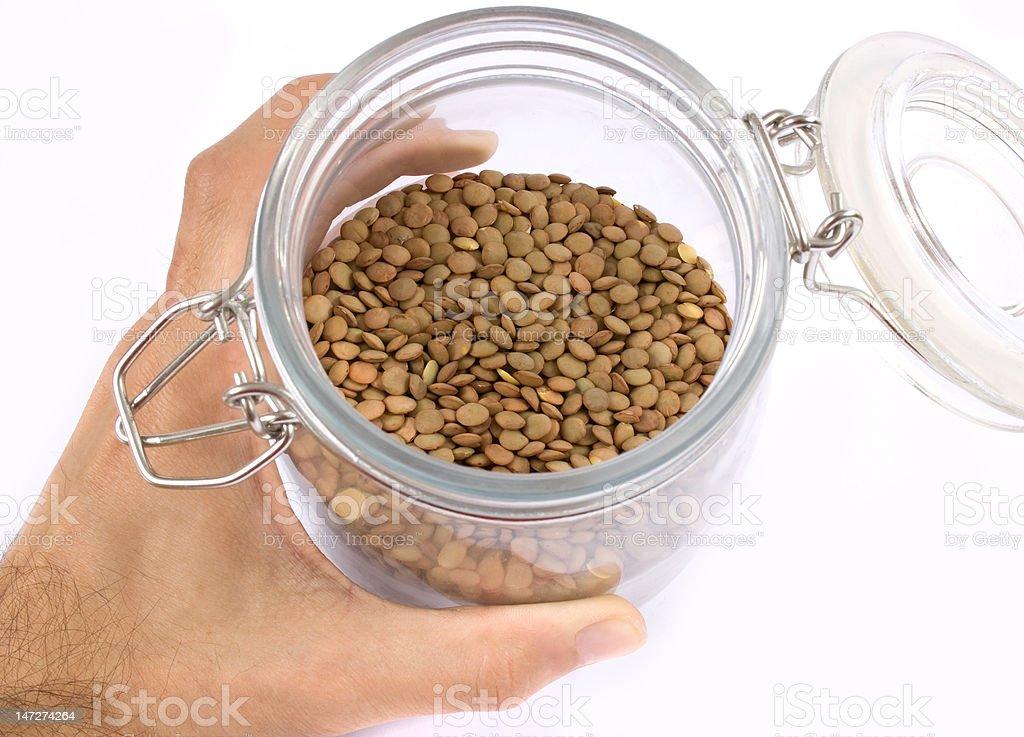 lentil royalty-free stock photo