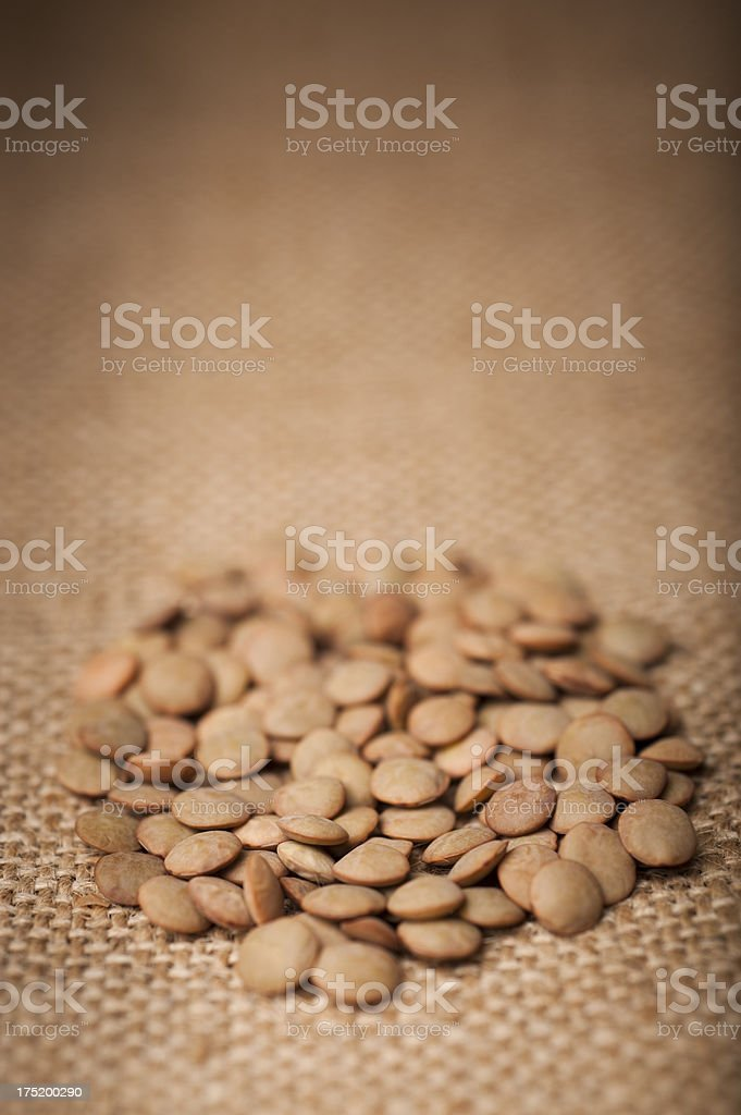 Lentils royalty-free stock photo