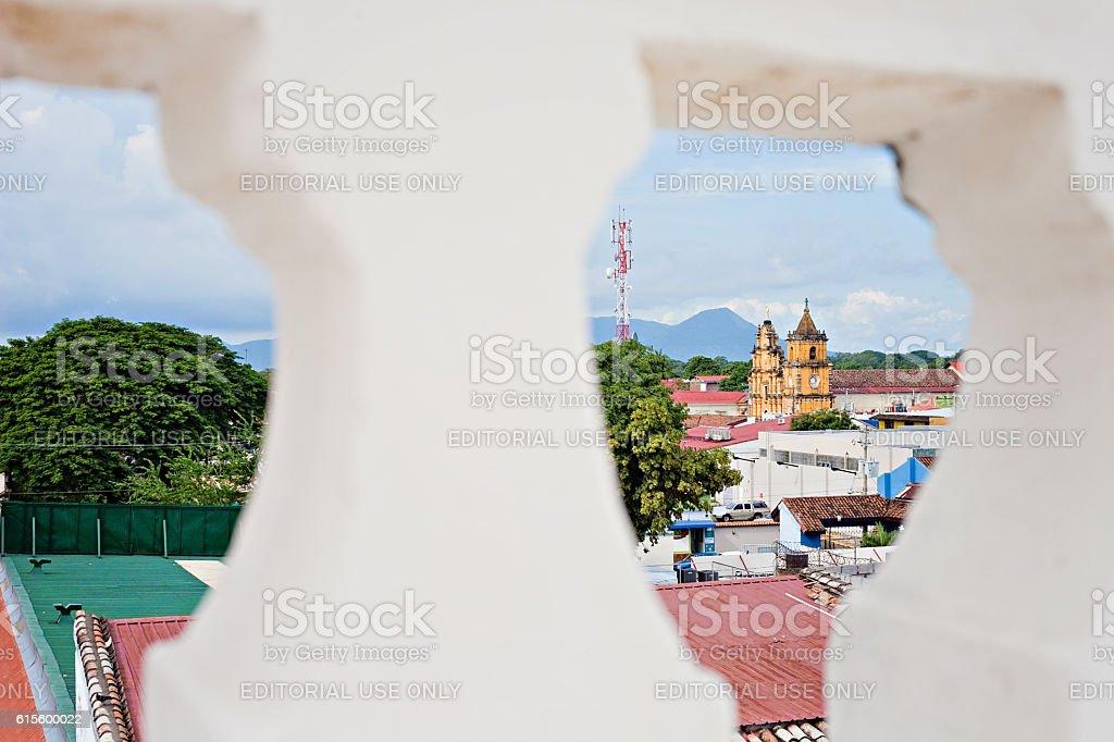 Leon City Nicaragua stock photo