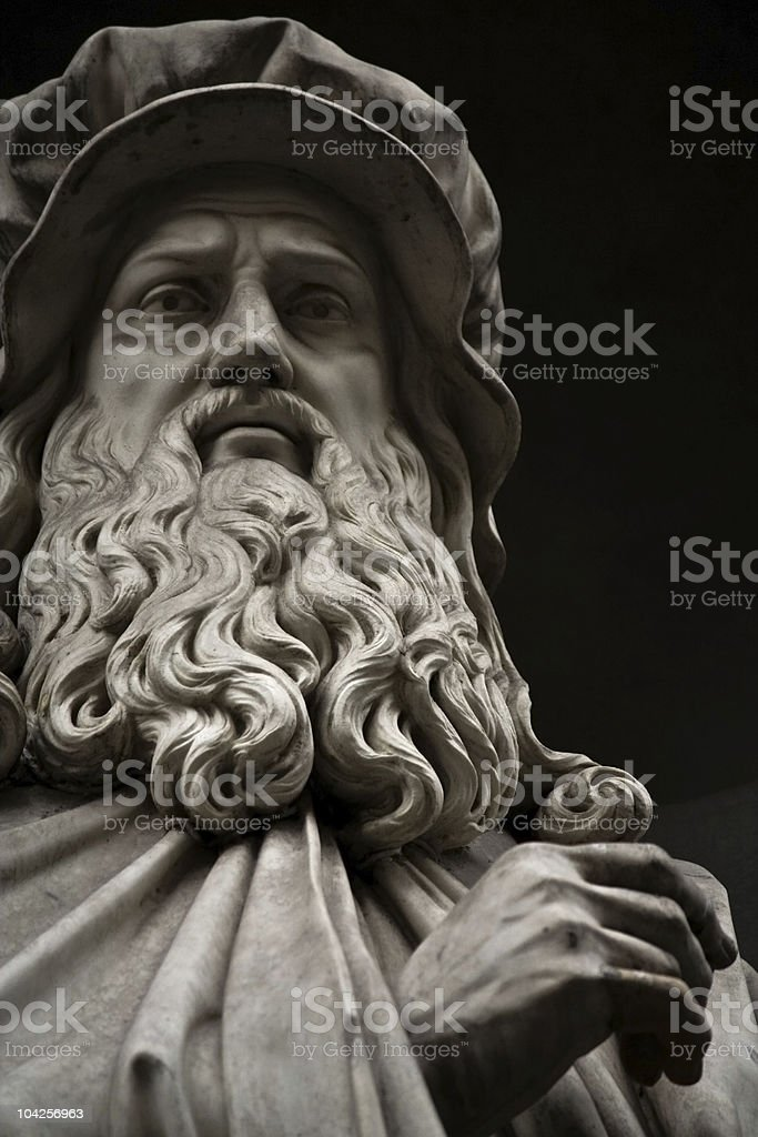 Leonardo da Vinci stock photo