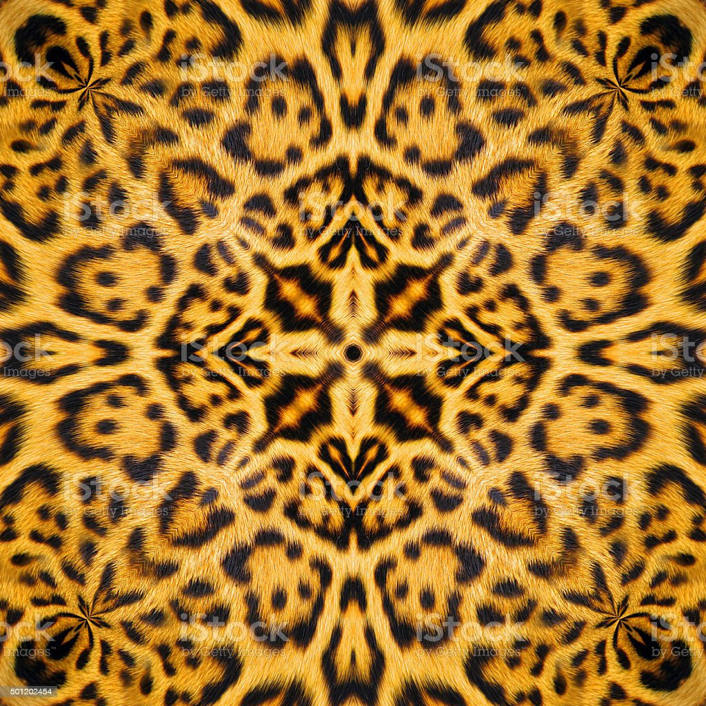 Leopard Leather stock photo