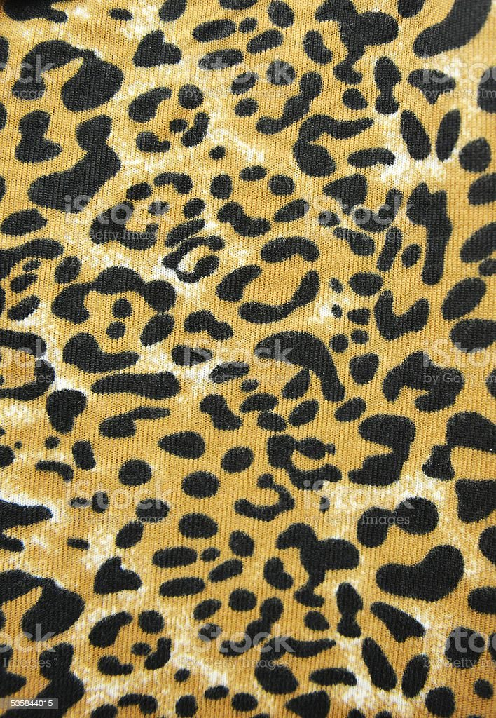 Leopard pattern stock photo