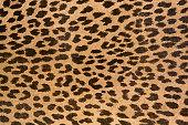 Leopard patterned fabric pattern