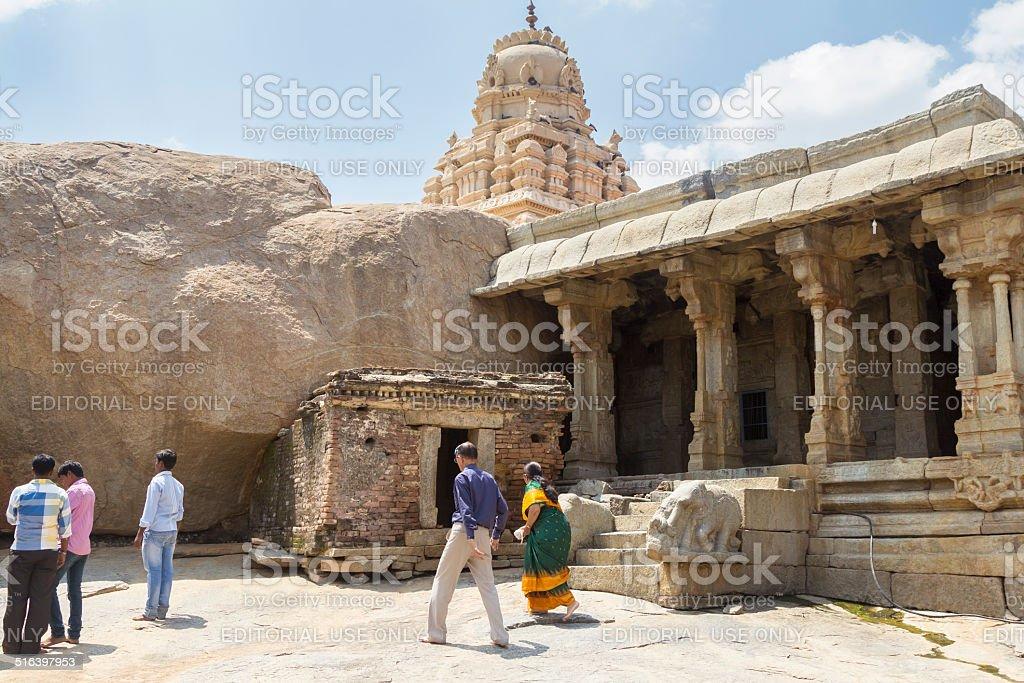 Lepakshi temple, India stock photo