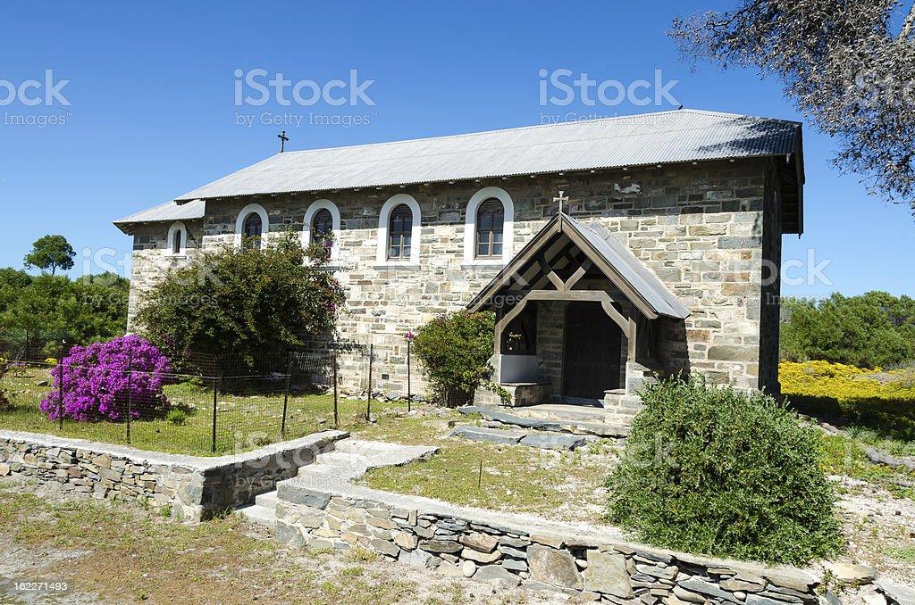 Leper Church on Robben Island stock photo