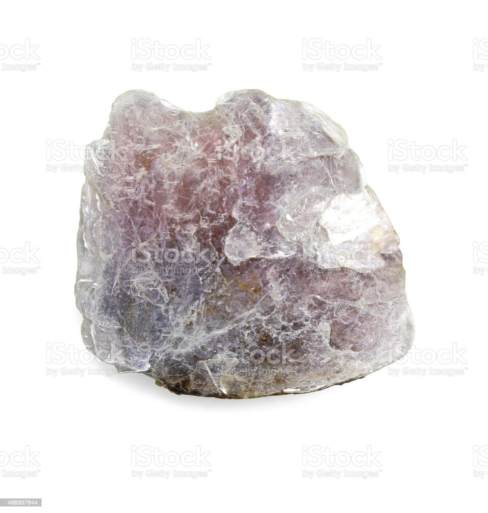 Lepidolite  -  violet mica stock photo