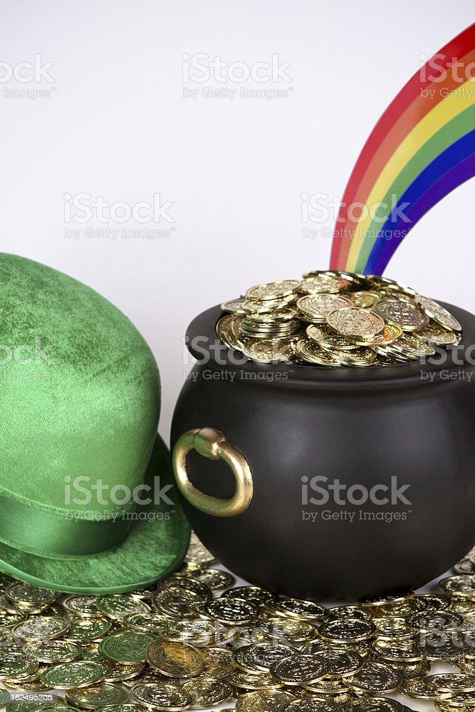 Leprechaun's Gold stock photo