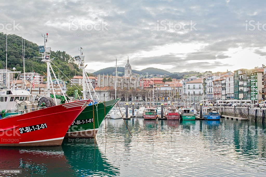 Lequeitio. Basque Country stock photo