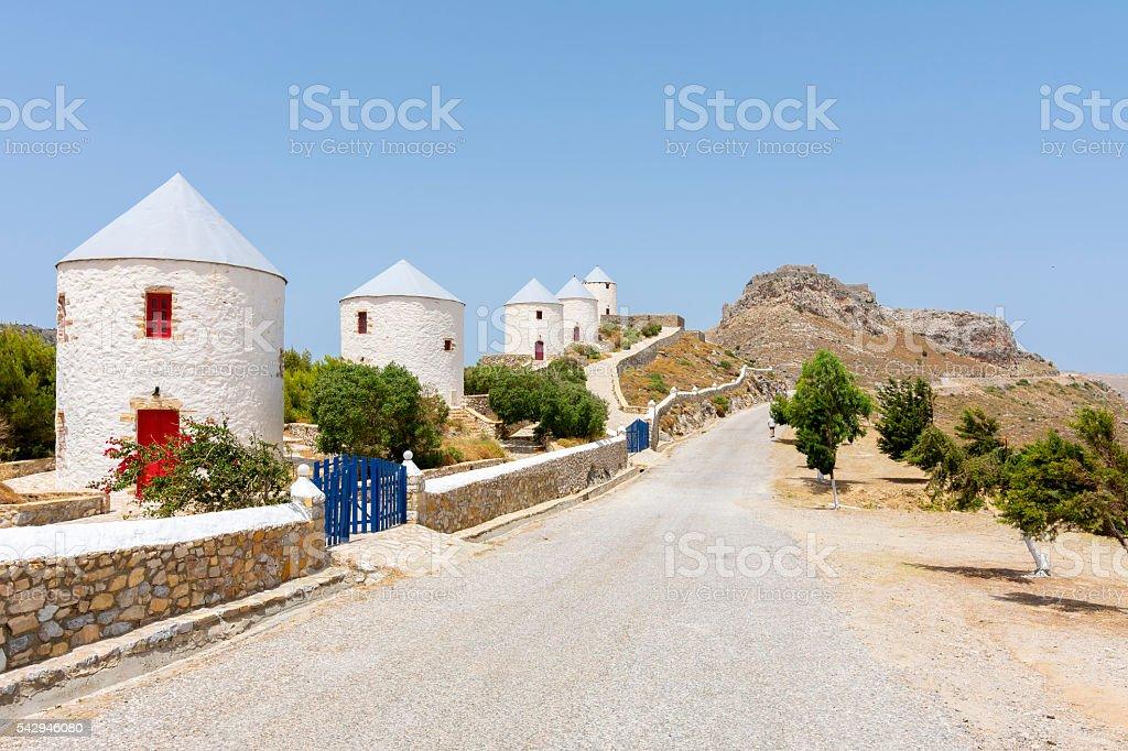Leros Island, Greece stock photo