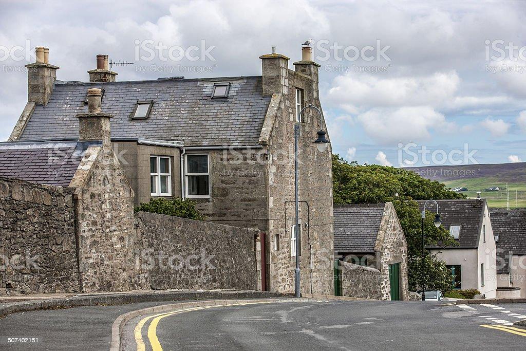 Lerwick City,Scotland11 stock photo