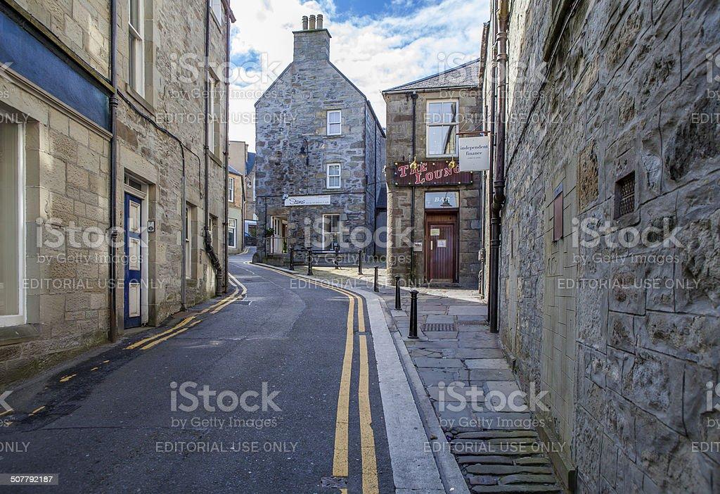 Lerwick City,Scotland3 stock photo