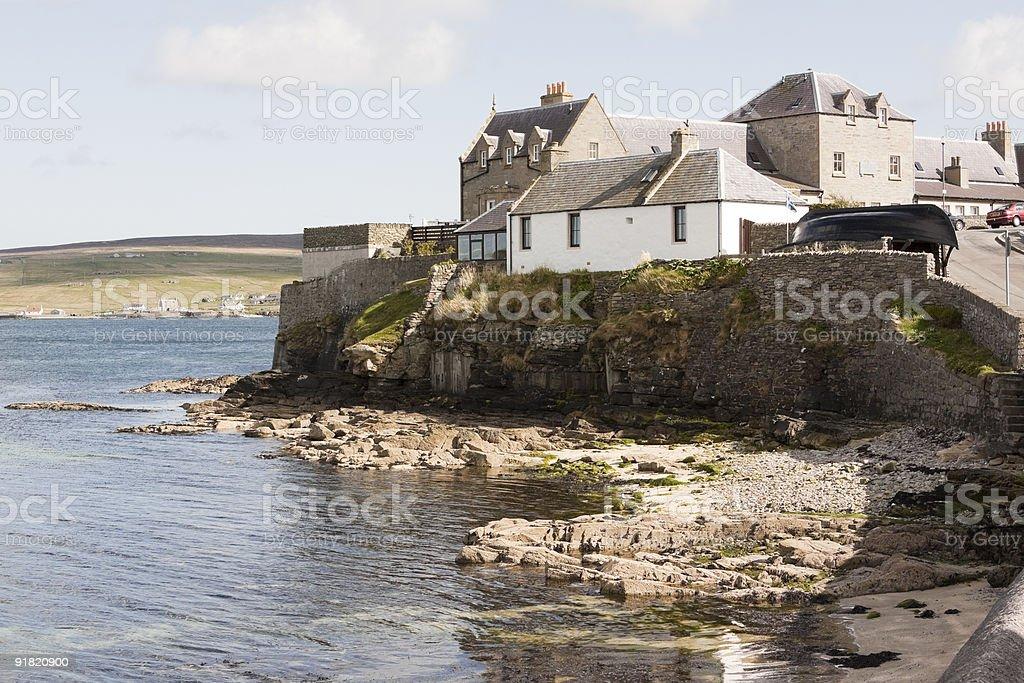 Lerwick Homes stock photo