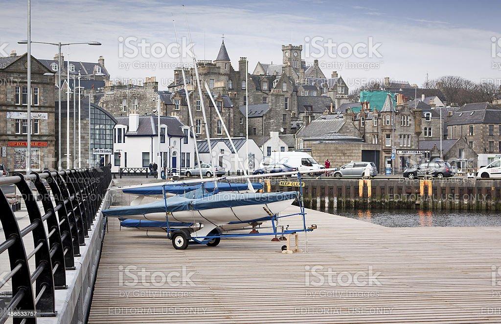 Lerwick royalty-free stock photo