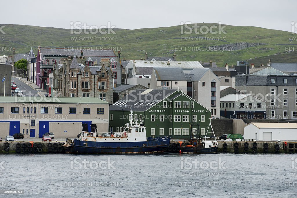 Lerwick, Shetland Islands royalty-free stock photo