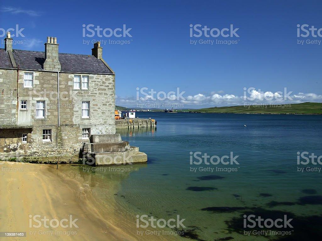 Lerwick, Shetland royalty-free stock photo