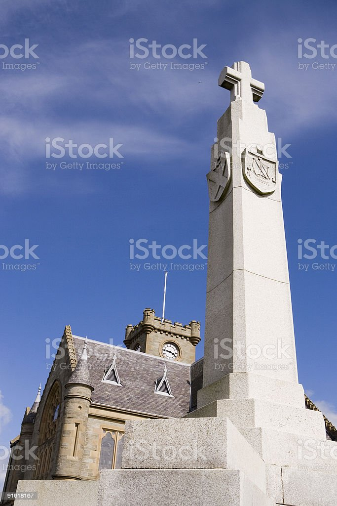 Lerwick Town Hall royalty-free stock photo