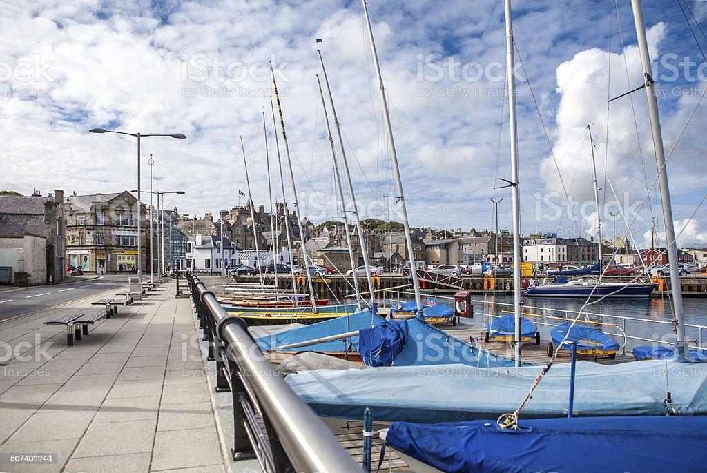 Lerwick,UK,Harbor5 stock photo