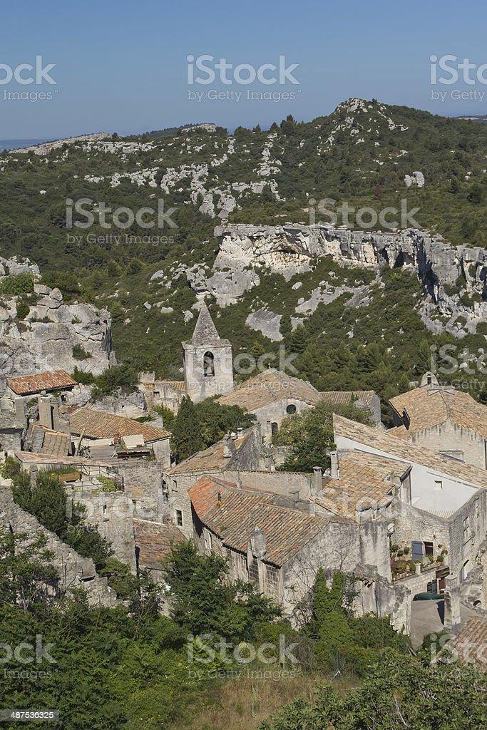 Les Baux-de-Provence (Provence, France) stock photo
