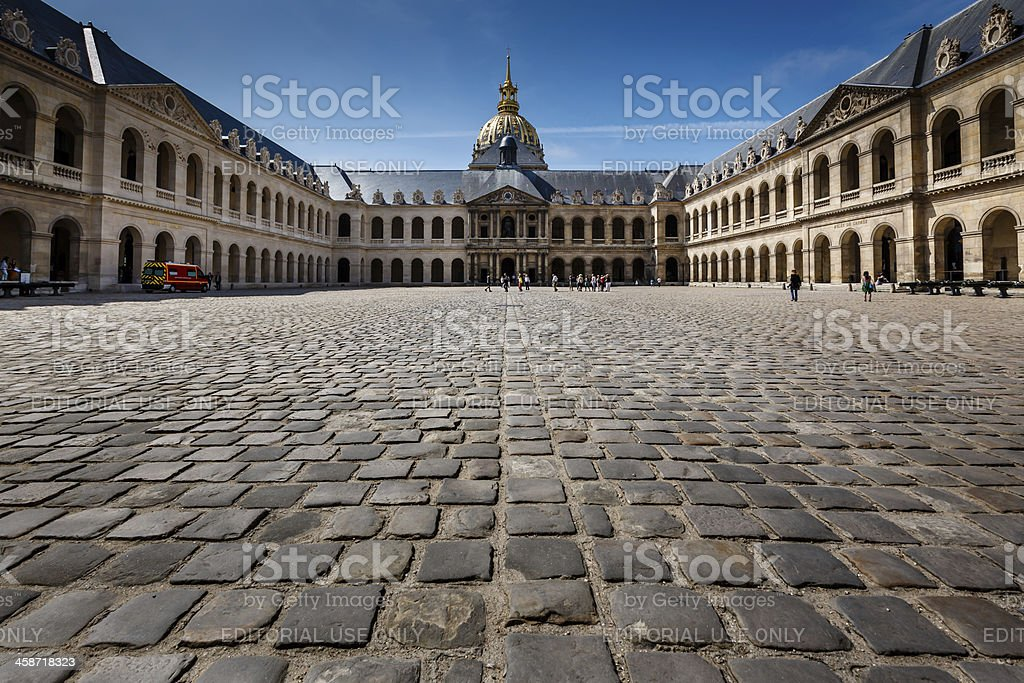 Les Invalides War History Museum in Paris, France royalty-free stock photo