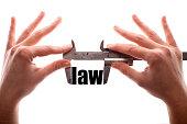 Less law metaphor