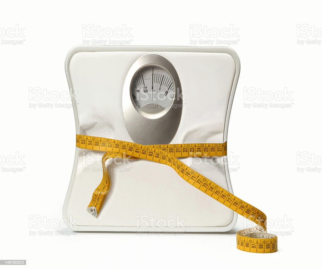 Less weight. stock photo