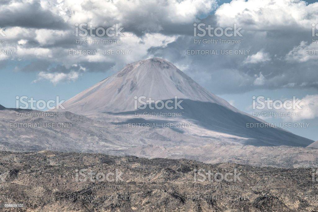 Lesser Mount Ararat (Kucuk Agri) stock photo