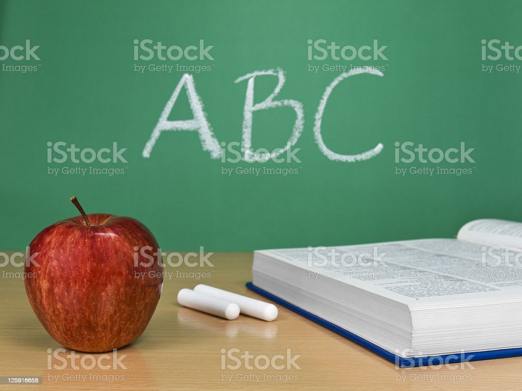 Lesson number 1 stock photo